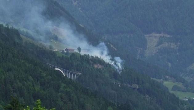 Seit dem Vorjahr stehen die ÖBB unter Beschuss, weil sogenannte Brandschutzstreifen fehlen (Bild: Edith Lessnig KunstRaum Obervellach)