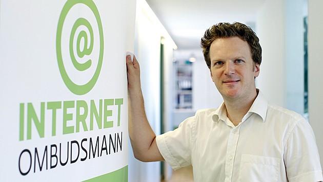 Bernhard Jungwirth ist Projektleiter der unabhängigen Schlichtungsstelle Internet-Ombudsmann (Bild: Reinhard Holl)