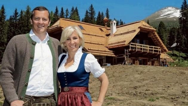 Vom Gambswirt in Tamsweg zum Prebersee: Christine und Ulrich Antretter setzten sich gegen durch. (Bild: Roland Holiztky)