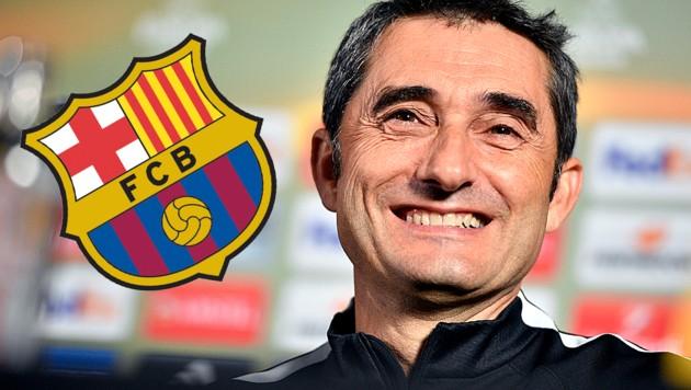 Ernesto Valverde (Bild: AFP)