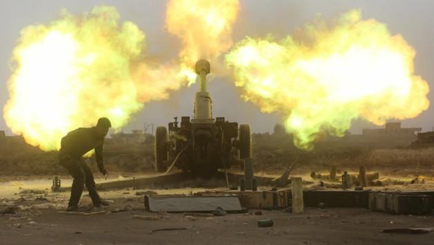 Irakische Streitkräfte starteten eine neue Operation, um die IS-Enklave in Mossul zurückzuerobern. (Bild: REUTERS)