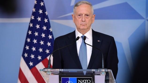 US-Verteidigungsminister James Mattis (Bild: AFP)