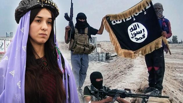 (Bild: APA/AFP/FREDERICK FLORIN, raqqa-sl.com)