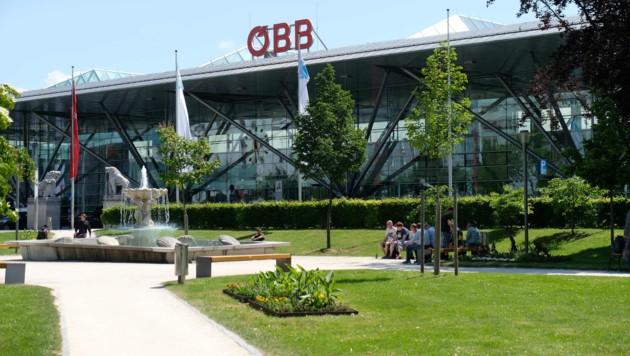 Der Linzer Hauptbahnhof (Bild: Horst Einöder)