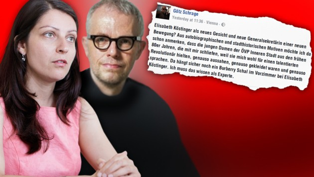 Muna Duzdar, Götz Schrage und sein viel kritisiertes Facebook-Posting