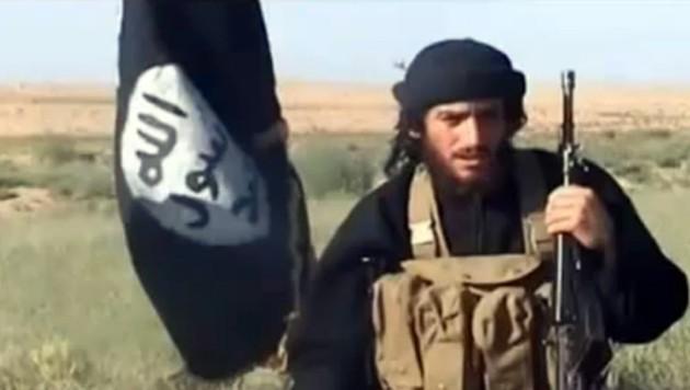 IS-Sprecher Abu Mohammed al-Adnani, der Ende August 2016 bei einem Bombenangriff ums Leben kam