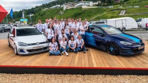VW-Lehrlinge präsentieren wie jedes Jahr ihre Arbeiten am Wörthersee (Bild: Peter Maahn)