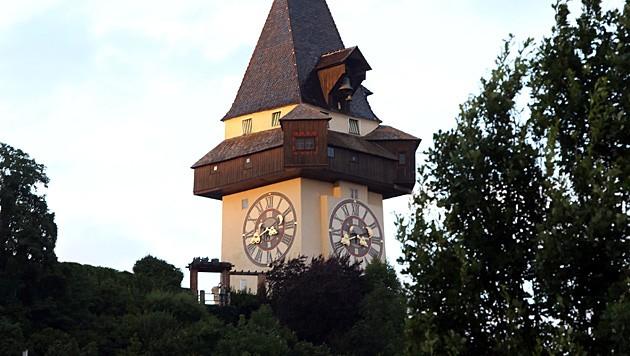 Der Uhrturm in Graz (Bild: Jürgen Radspieler)