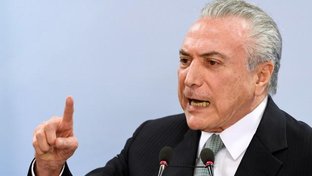 Michel Temer (Bild: AFP)