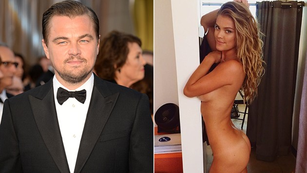 Leonardo DiCaprio turtelte nur ein Jahr mit Nina Agdal. (Bild: APA/AFP/ANGELA WEISS, instagram.com/ninaagdal)