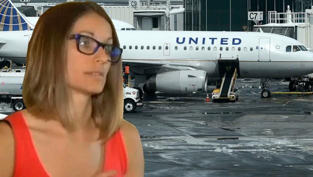 """Nicole Harper übt harte Kritik an United Airlines. (Bild: AFP/Justin Sullivan, """"Krone"""")"""