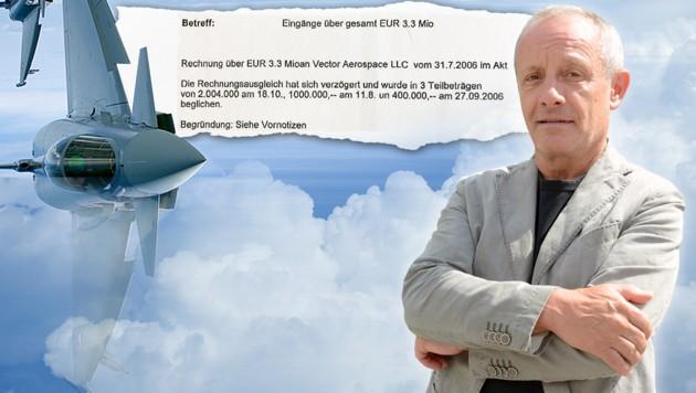 "(Bild: Andreas Fischer, ""Krone"", thinkstockphotos.de, Eurofighter)"