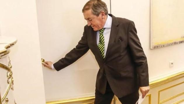 Mit Stadtchef Heinz Schaden ist erstmals ein aktiver Politiker in der Finanz-Causa angeklagt. (Bild: Markus Tschepp)