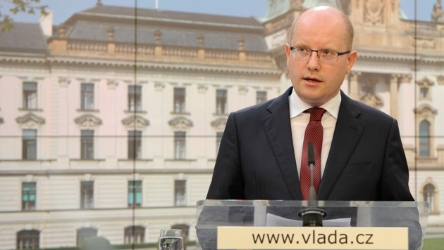 Der tschechische Premier Bohuslav Sobotka (Bild: AP)