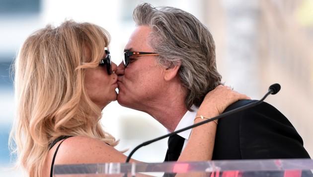 Seit über 30 Jahren sind Goldie Hawn (71) und Kurt Russell (66) ein Paar. (Bild: GETTY IMAGES NORTH AMERICA/AFP)
