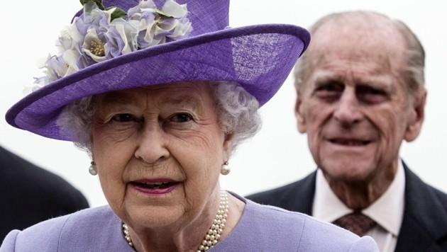 Queen Elizabeth und Prinz Philip (Bild: ANGELO CARCONI/AFP/picturedesk.com)