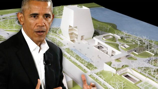(Bild: Obama Foundation via AP, AP/Nam Y. Huh)