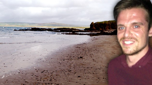 Vom Machrihanish Beach war der Mann zu einem Surfausflug aufgebrochen. (Bild: Wikipedia/Gerspych (CC BY-SA 3.0), Police Scotland)