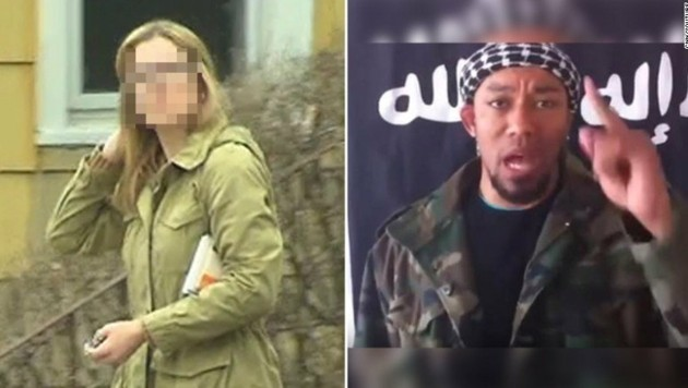 Die FBI-Agentin Daniela Greene soll den deutschen IS-Terroristen Denis Cuspert geheiratet haben. (Bild: Twitter.com)