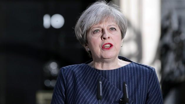Großbritanniens Premierministerin Theresa May (Bild: AFP)