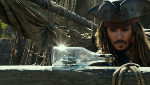 """Johnny Depp in """"Pirates of the Caribbian: Dead Men Tell No Tales"""" (Bild: Hollywood Picture Press/face to)"""