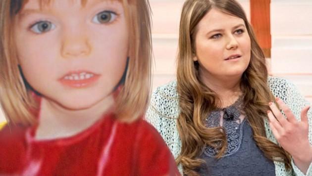 Natascha Kampusch sprach in einer britischen Morgenshow über den Fall Maddie McCann (li.). (Bild: twitter.com/ITV, APA/AFP/CARL DE SOUZA)