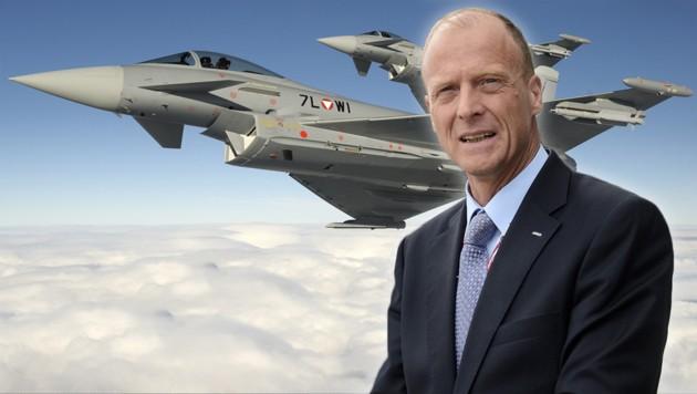 Airbus-Vorstandschef Thomas Enders (Bild: BMLVS/Markus Zinner, AFP/Remy Gabalda)