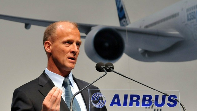 Airbus-Vorstandschef Thomas Enders (Bild: APA/dpa/Angelika Warmuth)