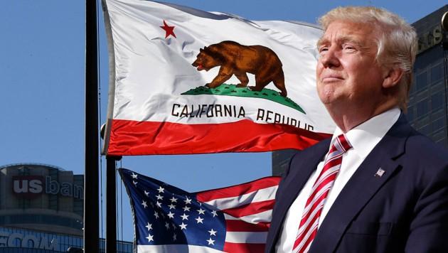 Zahlreiche Städte in Kalifornien sowie anderen US-Staaten wehren sich gegen Trumps Pläne. (Bild: AFP, AP)