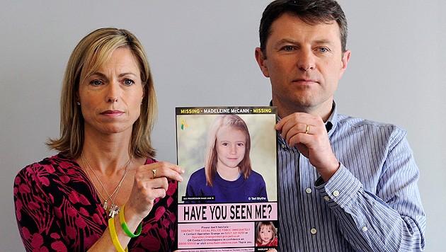 Die Eltern von Madeleine McCann (Bild: EPA)