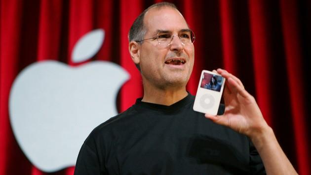 Steve Jobs gilt als Visionär der IT und prägte mit Geräten wie dem Mac, dem iPod und dem iPhone eine ganze Branche. (Bild: AP)