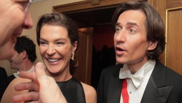 Fiona Swarovski und Karl-Heinz Grasser beim Opernball 2009