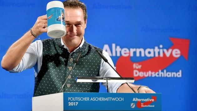 FPÖ und AfD pflegen recht enge Beziehungen.