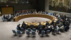 Die 15 Mitgliedstaaten des mächtigen UN-Sicherheitsrats halten wegen des Virus ihre Beratungen schon seit Wochen nur noch per Videoschaltungen ab. (Bild: AFP/Getty Images North America)