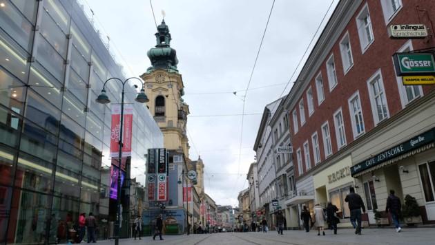 Die Linzer Landstraße (Bild: Horst Einöder)