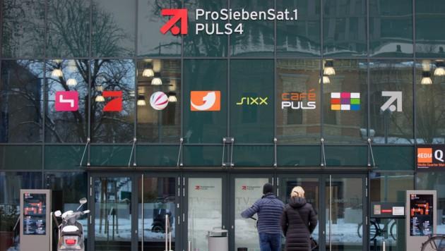 Das Gebäude der ProSiebenSat.1 Gruppe in Wien (Bild: APA/GEORG HOCHMUTH)