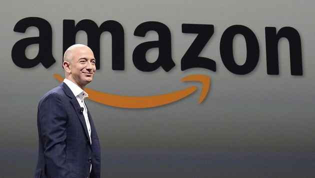 Amazon-Chef Jeff Bezos (Bild: EPA)