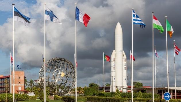 Das ESA-Raumfahrtzentrum in Kourou