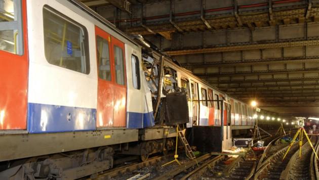 Auch in London nahmen Terroristen 2005 die Metro ins Visier. (Bild: AFP)