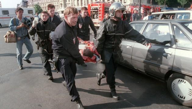 Acht Menschen kamen bei dem Anschlag in Paris 1995 ums Leben. (Bild: AFP)