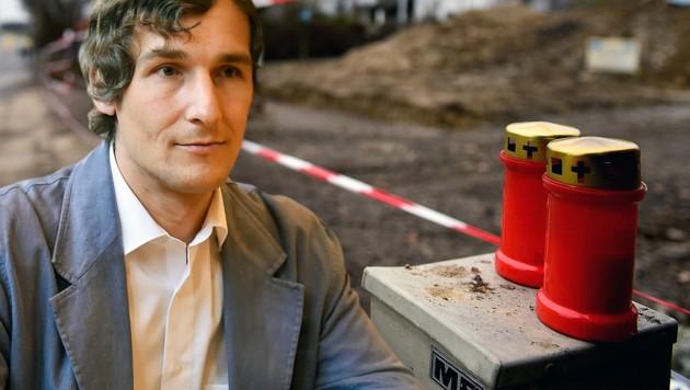 Roland Haider (42) brachte die beiden Pensionisten mit einer Eisenstange um. (Bild: Harald Dostal, Markus Wenzel)