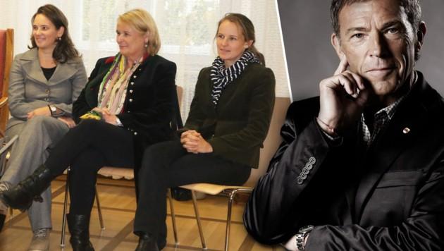 Die Töchter und die Witwe Jörg Haiders könnten haftbar gemacht werden. (Bild: Uta Rojsek-Wiedergut, BZÖ)