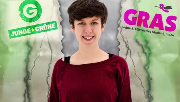 Flora Petrik, Chefin der Jungen Grünen (Bild: Junge Grüne, GRAS)