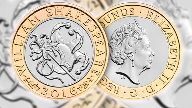England Führt Neue 1 Pfund Münze Mit Hologramm Ein Kroneat