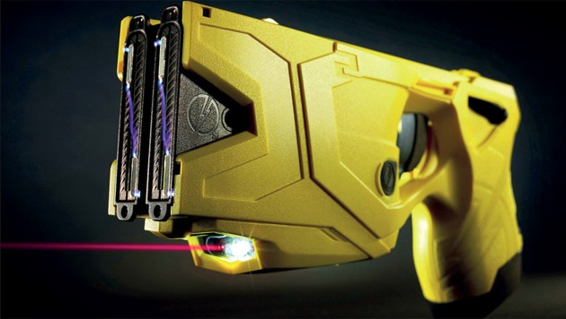 Die neue Elektroimpulswaffe der Polizei (Bild: BMI)