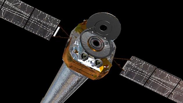 """Das Weltraumteleskop """"Chandra"""" (Bild: NASA/CXC/D. Berry)"""