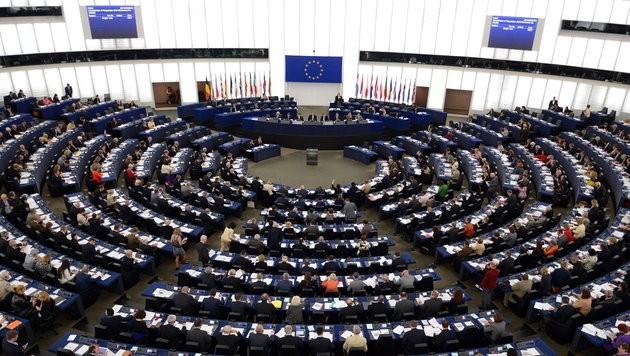 Das EU-Parlament ins Straßburg (Bild: EPA)