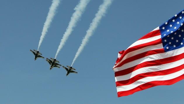 Die amerikanische Luftwaffe