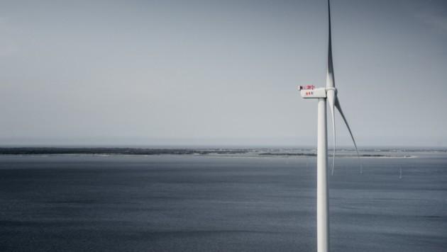 In den Offshore-Windrad-Kanzeln in weit über 100 Meter Höhe stecken Kupplungen aus Kärnten (Bild: Tristan Stedman.)