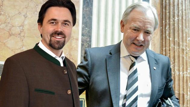 Dietmar Rauter sollte Gerhard Dörfler als Bundesrat nachfolgen. Doch daraus wird jetzt nichts. (Bild: APA/HERBERT NEUBAUER, FPÖ)